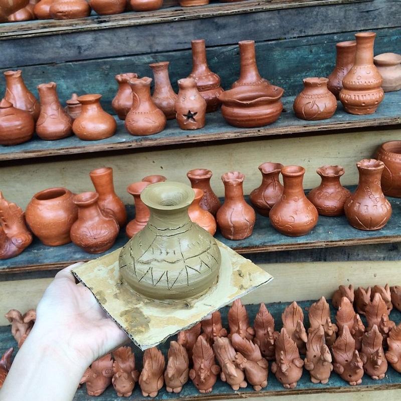 sản xuất gốm Thanh Hà Hội An