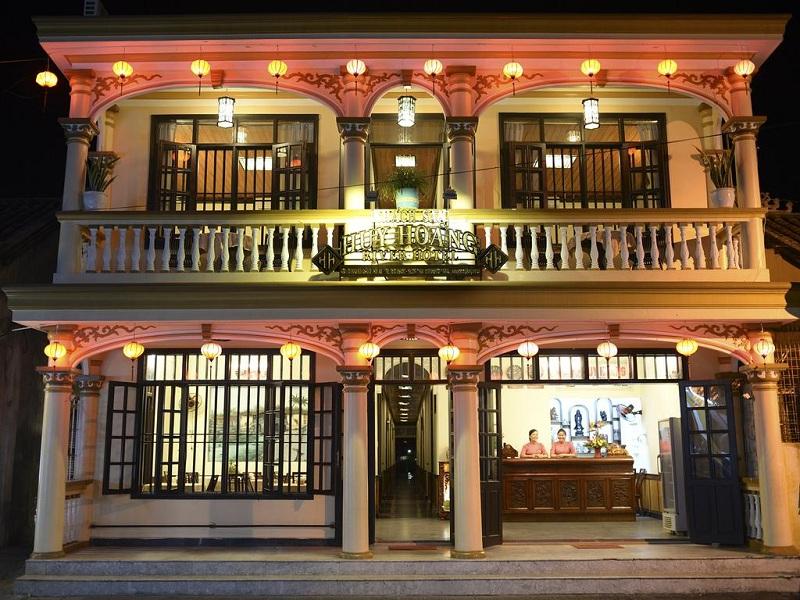 khách sạn trong phố cổ hội an