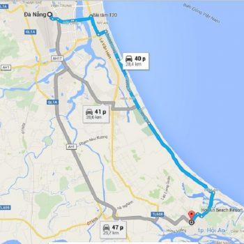 Đà Nẵng Hội Anbao nhiêu km