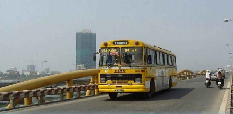 xe buýt đà nẵng tới hội an