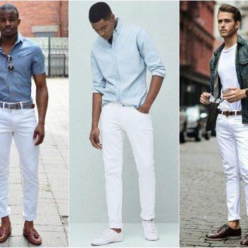 jean trắng