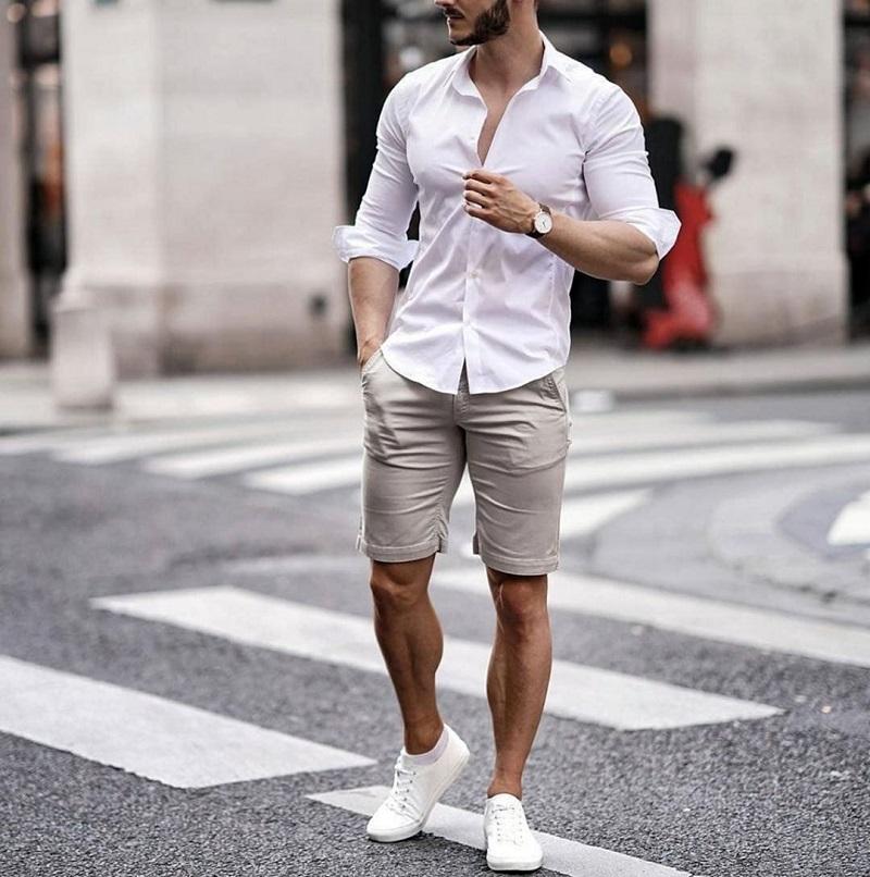 Sơ mi quần short