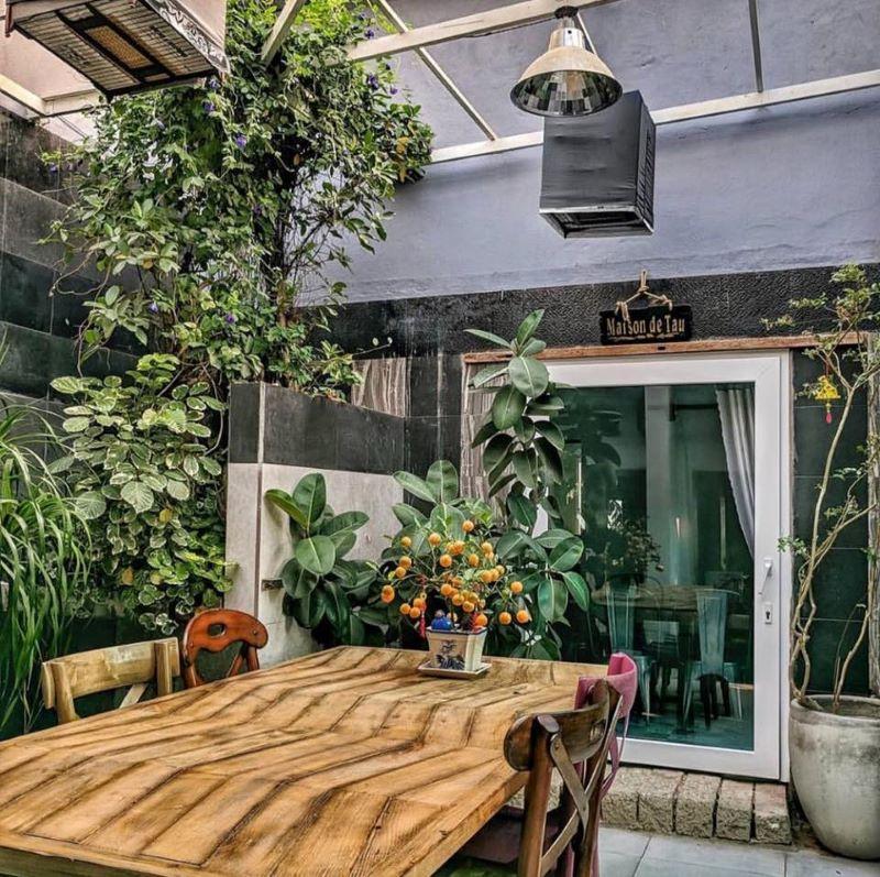 Homestay Maison De Tau với sự pha trộn của cổ điển và hiện đại