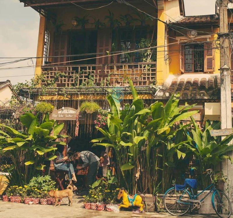 OLD YELLOW HOUSE HOI AN với đặc trưng nhà cổ Hôi An