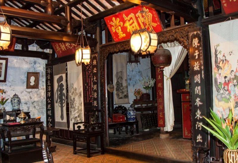 Nhà thờ tộc Trần với kiến trúc cổ xưa của Nhật - Trung - Việt