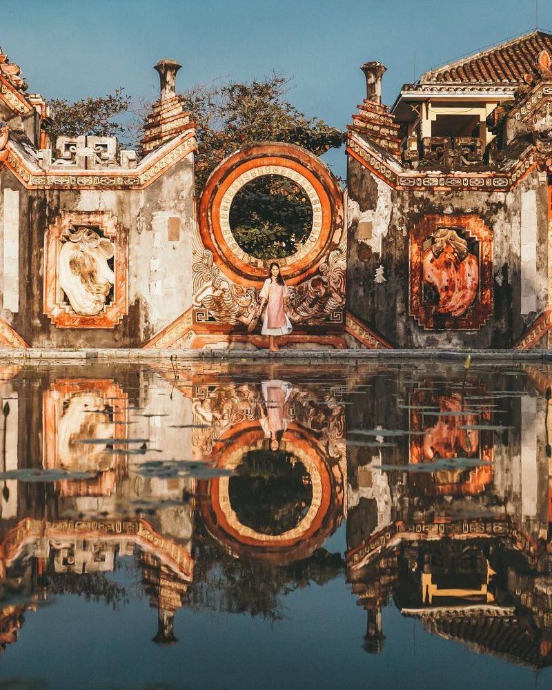 Chùa bà Mụ Tam Quan với kiến trúc độc đáo